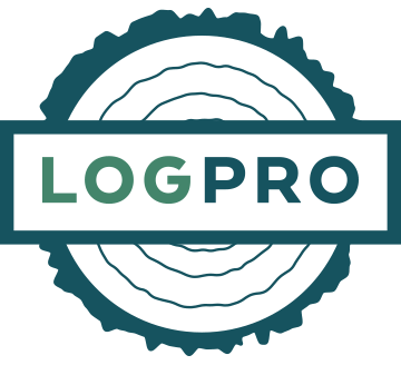 LogPro Log Handling Systems Color Circle Logo
