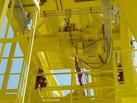 LogPro Radial Crane 50