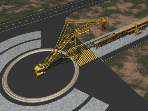 LogPro Radial Crane 29