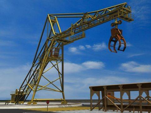 LogPro Radial Crane 32