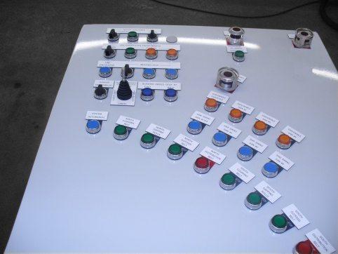 Baxley Process Controls Console