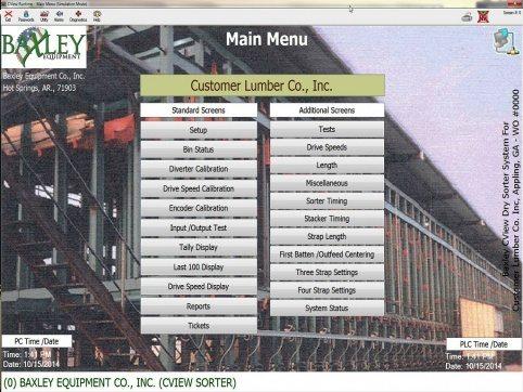 Baxley Process Controls Screen 2